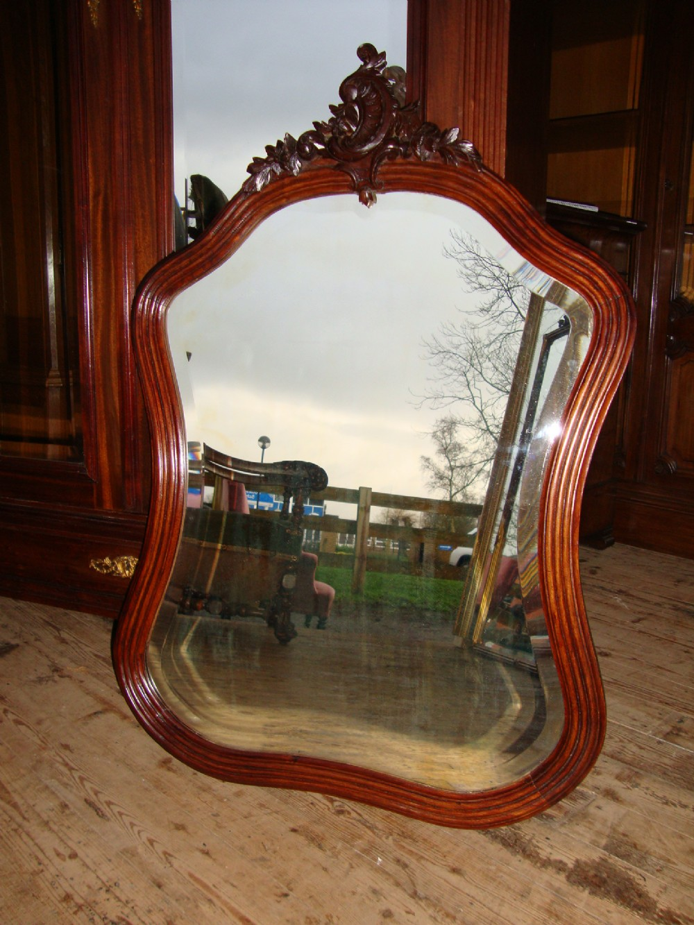 french louis xv style mirror 260688