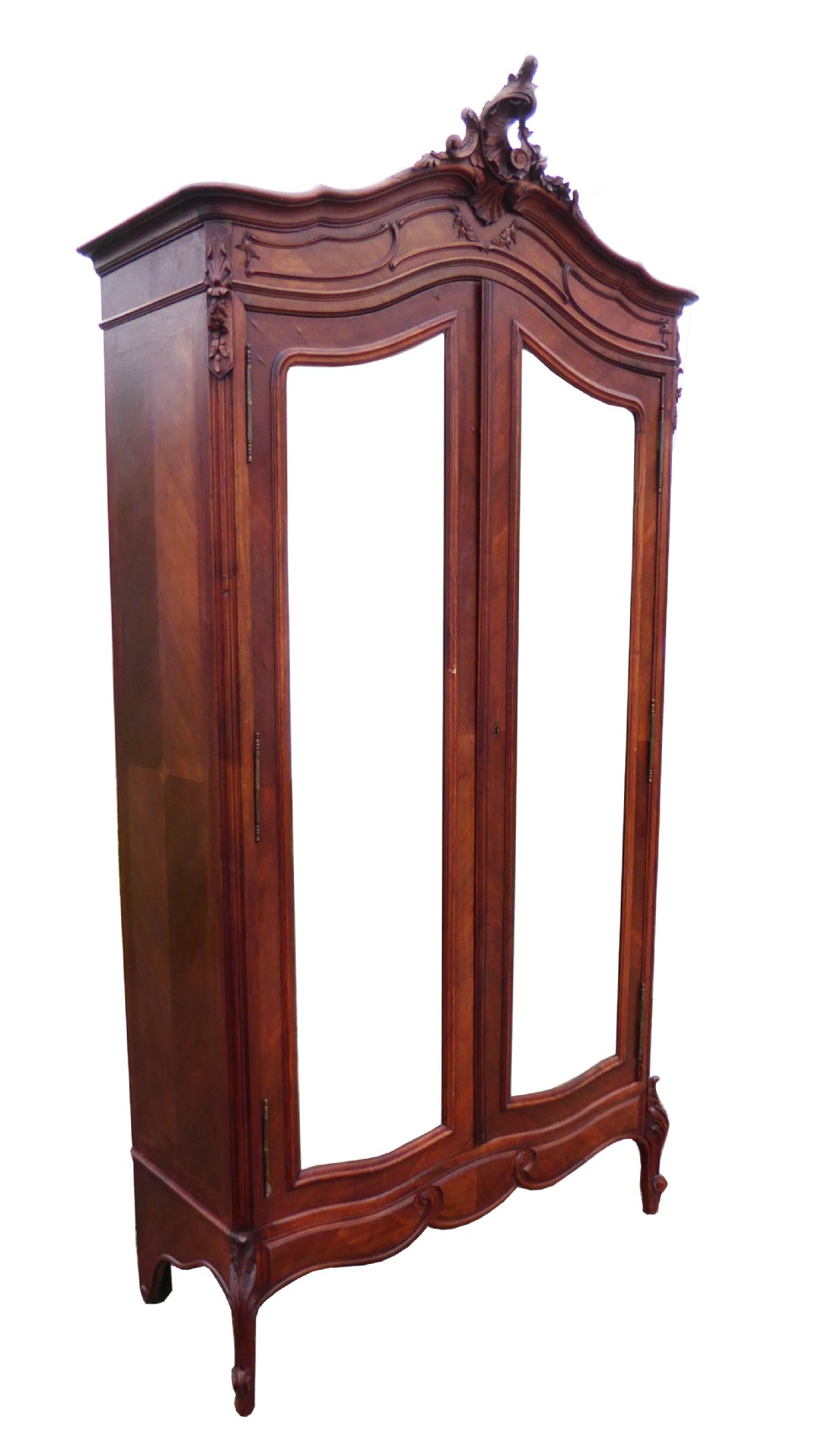 Antique French Walnut Louis Xv Style Rococo Armoire  372095  Sellingantique -> Armoire Style Baroque