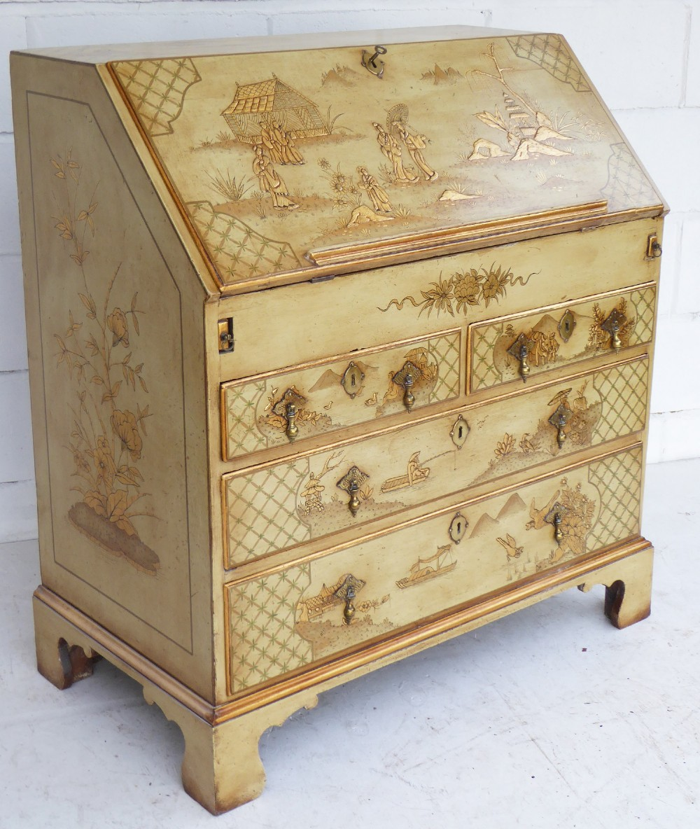 18th century chinoiserie bureau