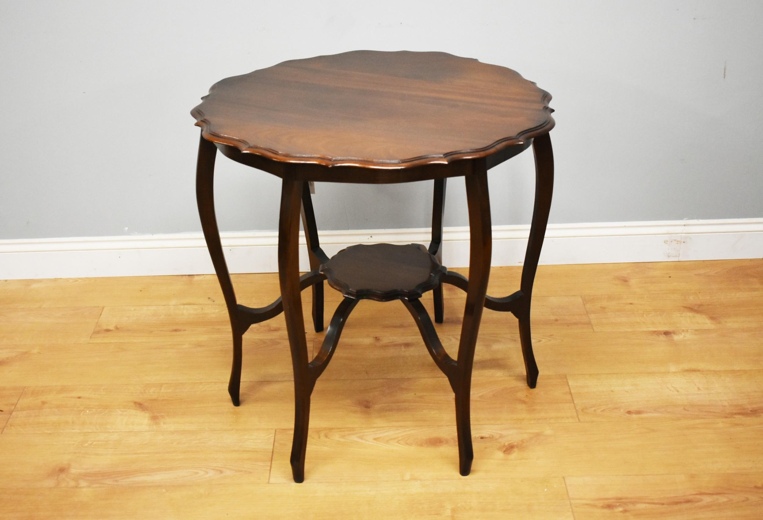 19th century victorian mahogany centre table