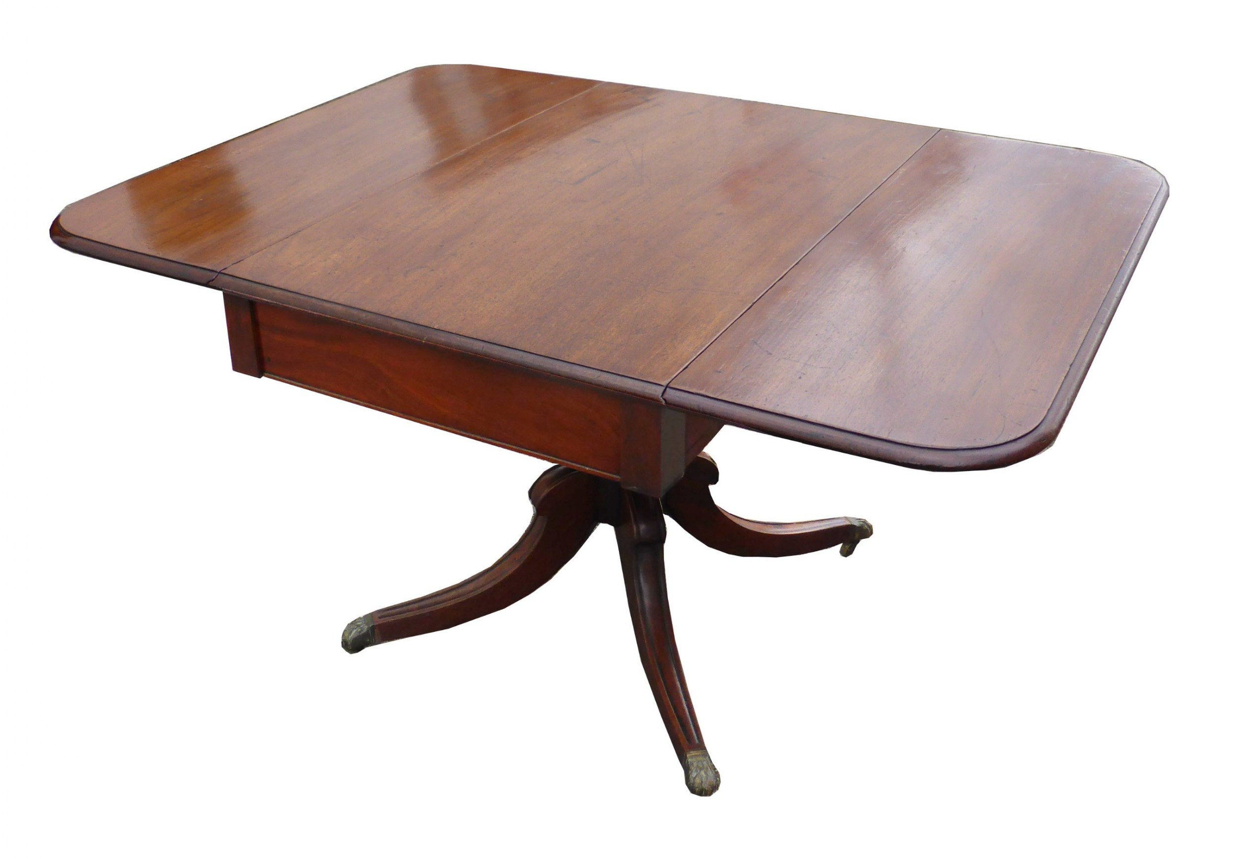 19th century george iii mahogany supper table