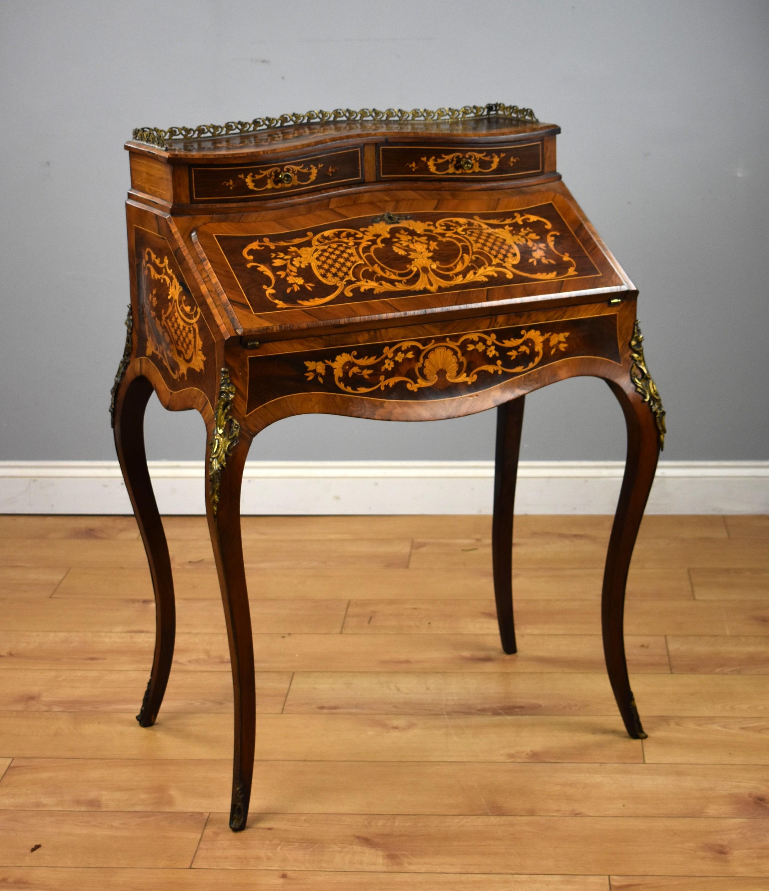 19th century french bureau de dame