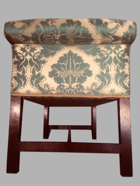 Fine Georgian Mahogany Window Seat 576159 Sellingantiques Co Uk Machost Co Dining Chair Design Ideas Machostcouk