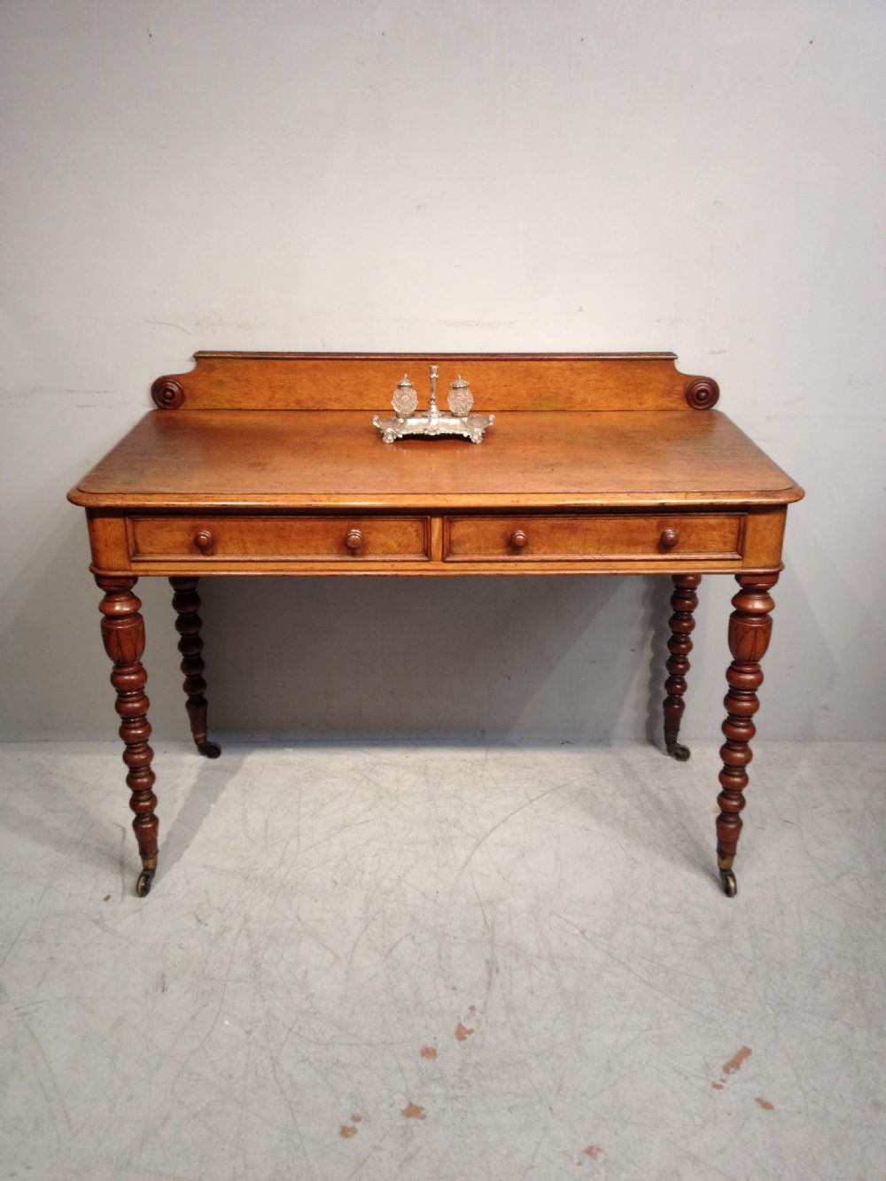 antique oak writing table by t seddon - Antique Oak Writing Table By T Seddon. 527022 Sellingantiques.co.uk