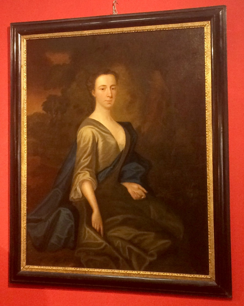 geo ii portrait of a lady possibly by charles jervas