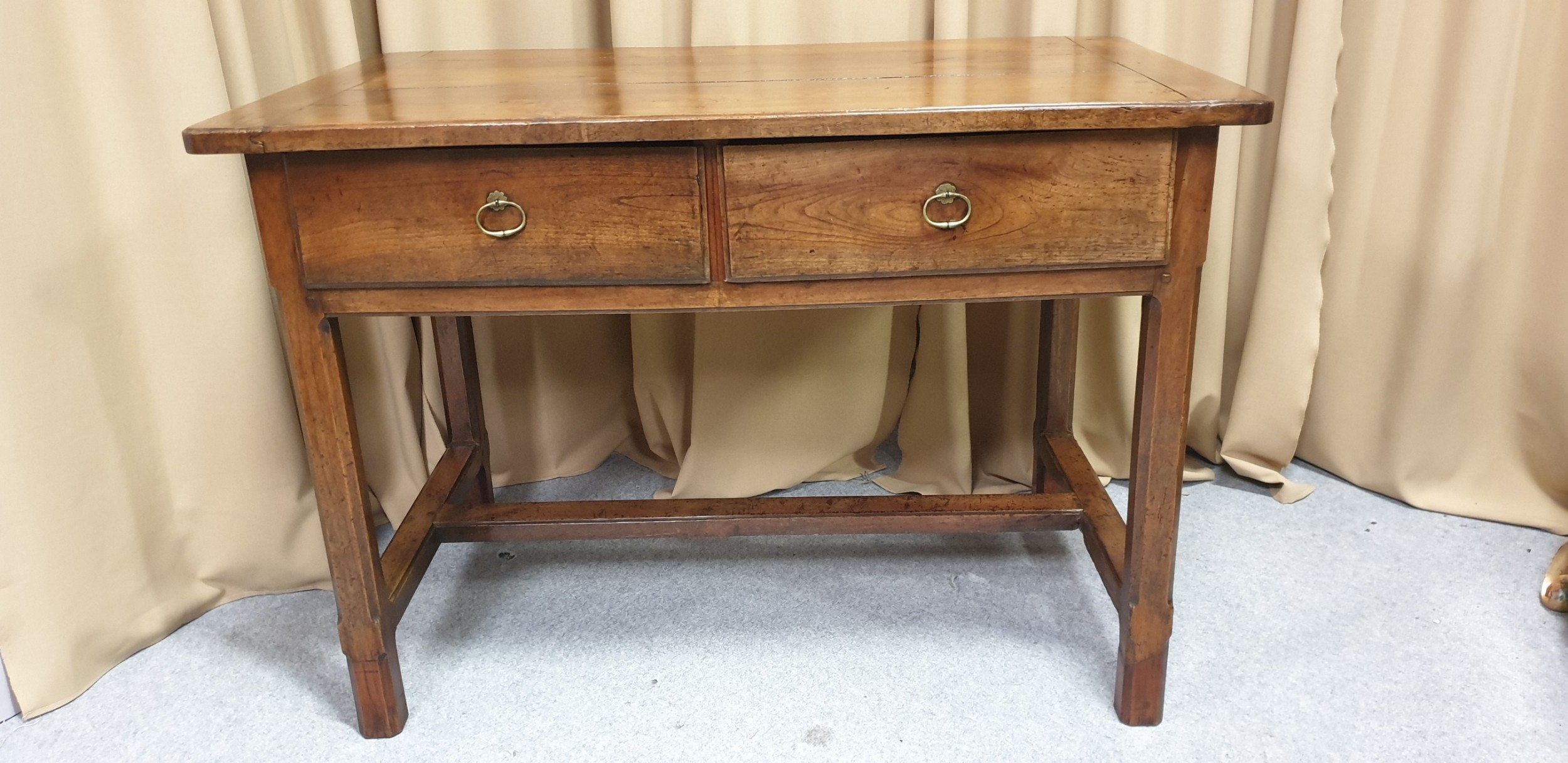 c18th french chestnut server buffet