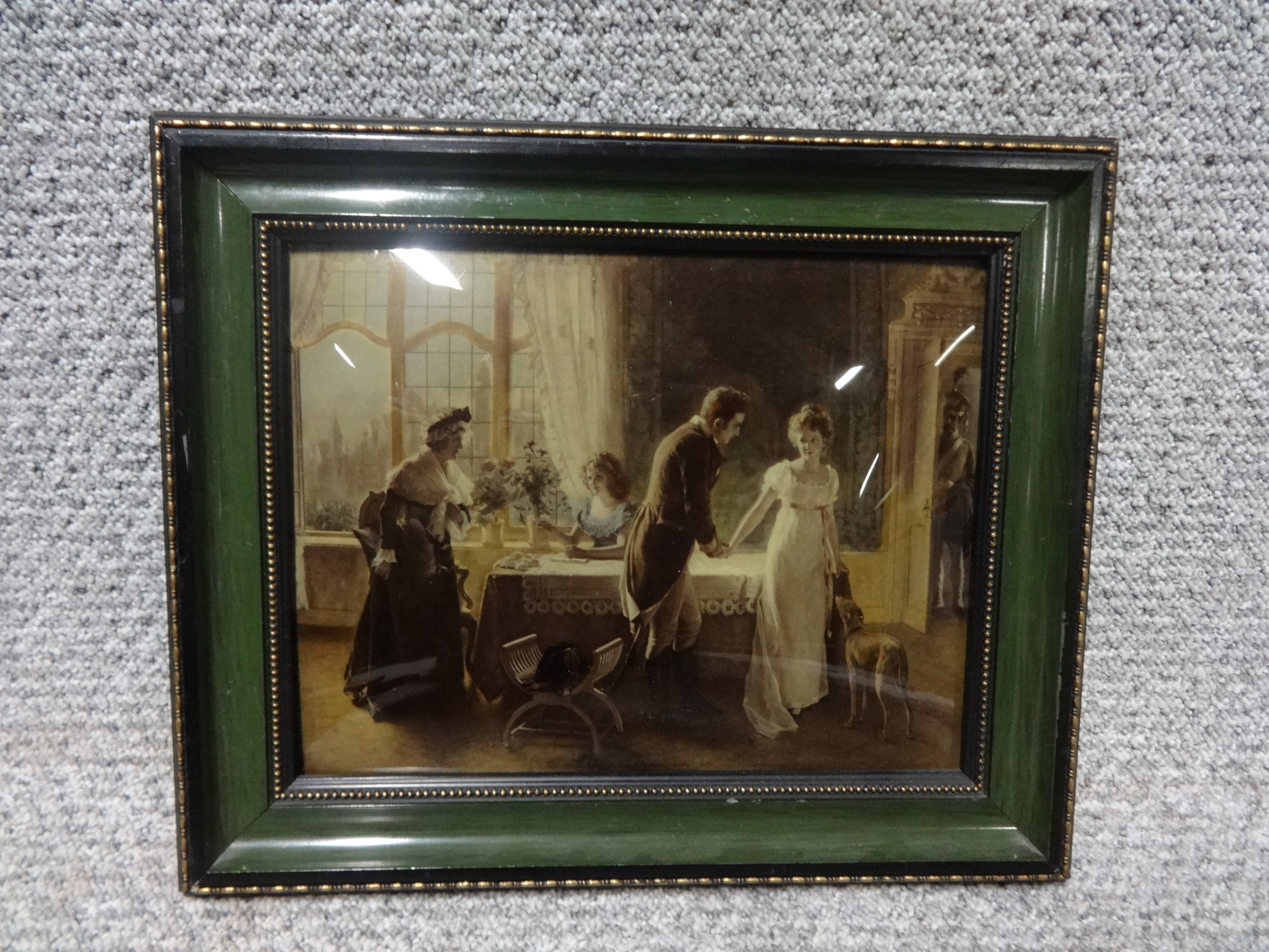 c19th chrystoleum of a courtship