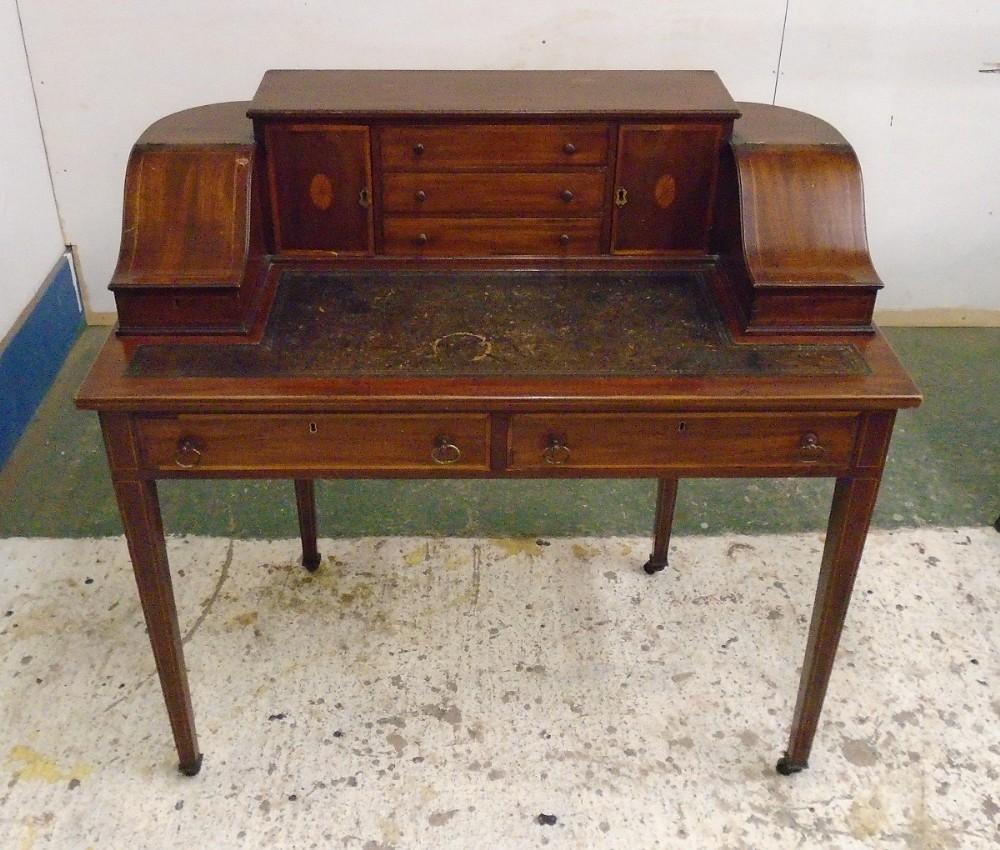 victorian mahogany carlton house desk