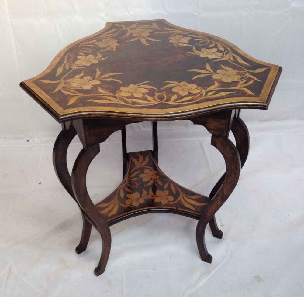 Unusual painted edwardian occasional table 263863 for Occasional tables
