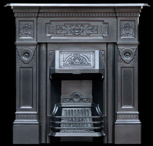 Large Cast Iron Fireplace 500869