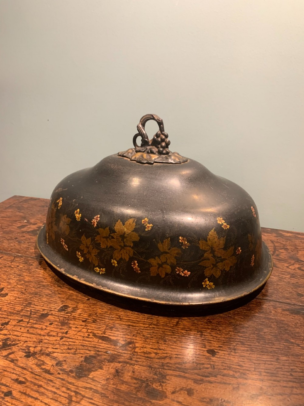 19th c tleware food cover