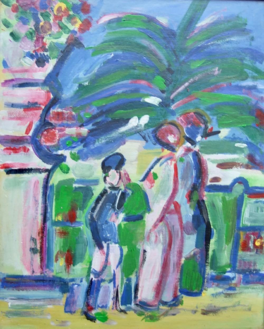 scottish colourist style painting
