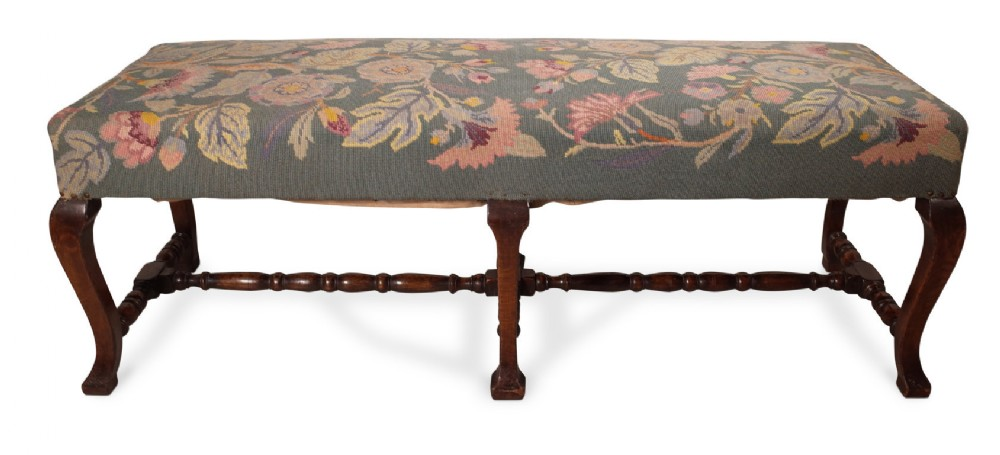 needlepoint stool