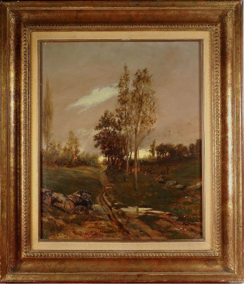 19th century landscape french school