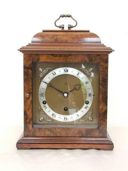beautiful elliott burr walnut westminster and whittington clock
