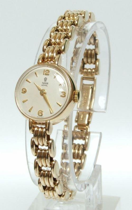 Exquisite Solid 9ct Gold Ladies Rolex Tudor Watch C1959