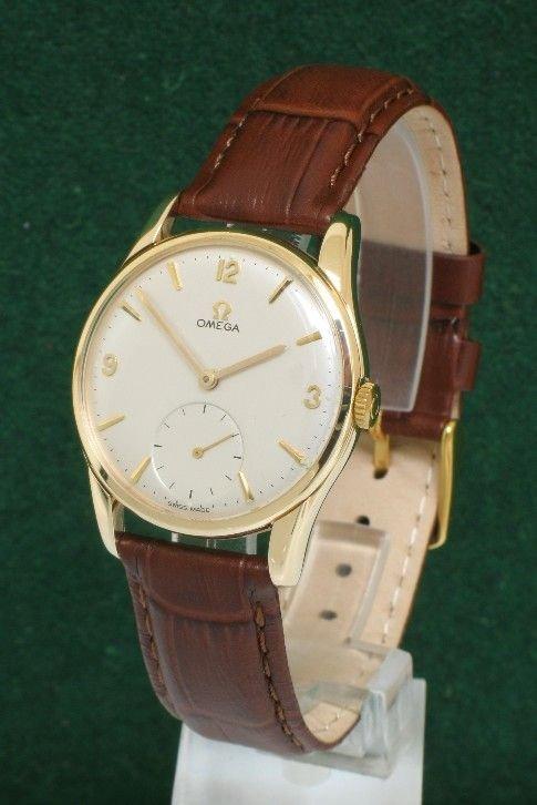 superb solid 9ct gold omega calibre 269 vintage mens watch c1960 superb solid 9ct gold omega calibre 269 vintage mens watch c1960