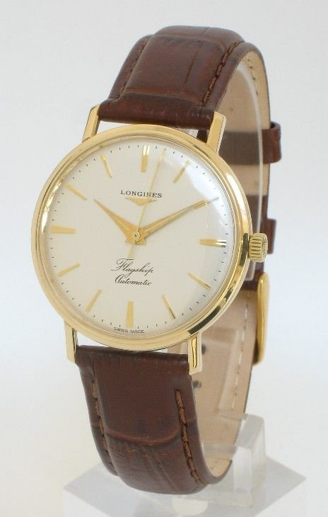 exceptional solid 9ct gold longines flagship automatic mens watch exceptional solid 9ct gold longines flagship automatic mens watch c1960