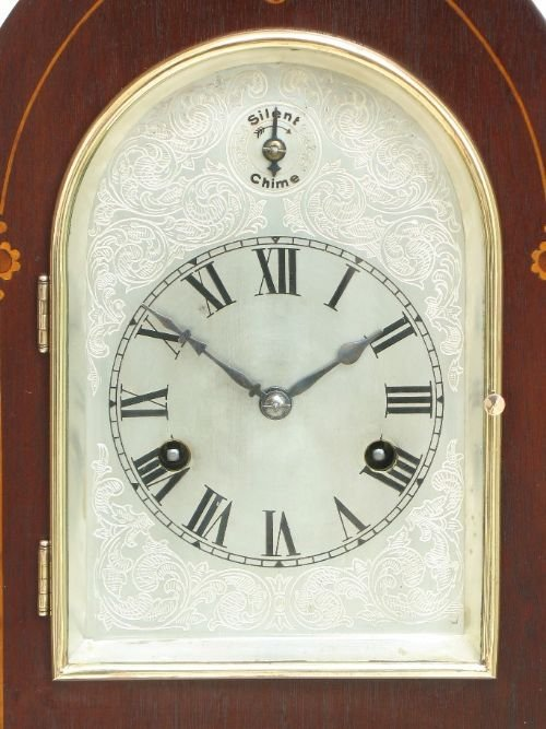 superb victorian mahogany hac westminster chime lancet mantel clock c1890 - photo angle #4