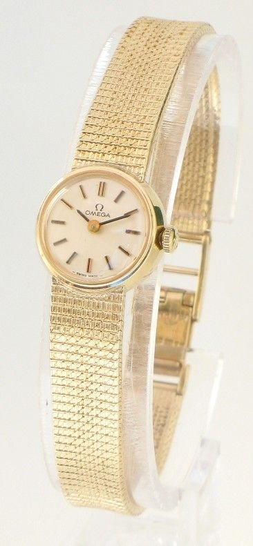 Exquisite Solid 9ct Gold Ladies Omega Cocktail Watch C1958