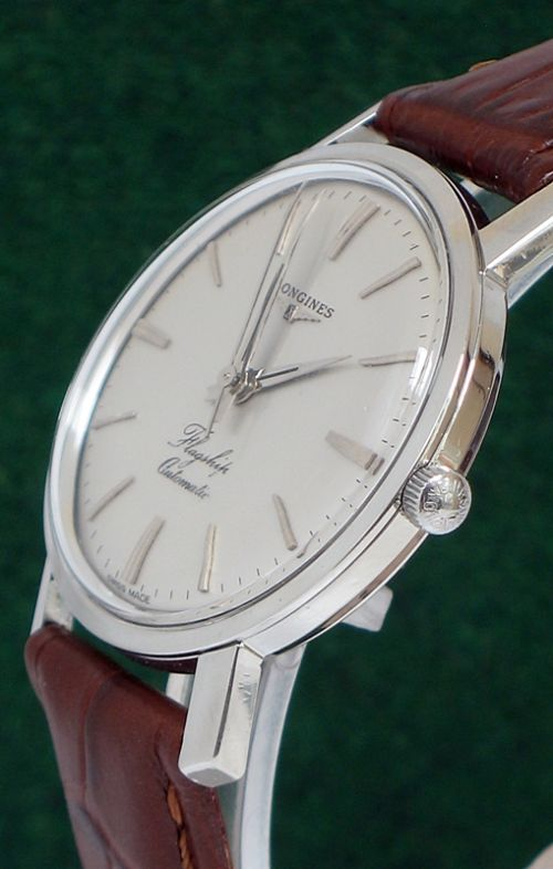 longines flagship automatic stainless steel mens watch c1960 page load time 0 10 seconds