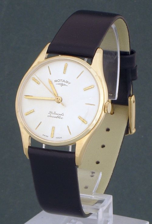 mint condition solid 9ct gold rotary mens watch original box mint condition solid 9ct gold rotary mens watch original box