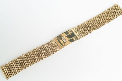 beautiful heavy solid 9ct gold mens watch bracelet or strap beautiful heavy solid 9ct gold mens watch bracelet or strap