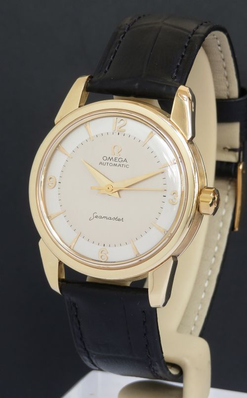 solid 18ct gold omega seamaster automatic c1958