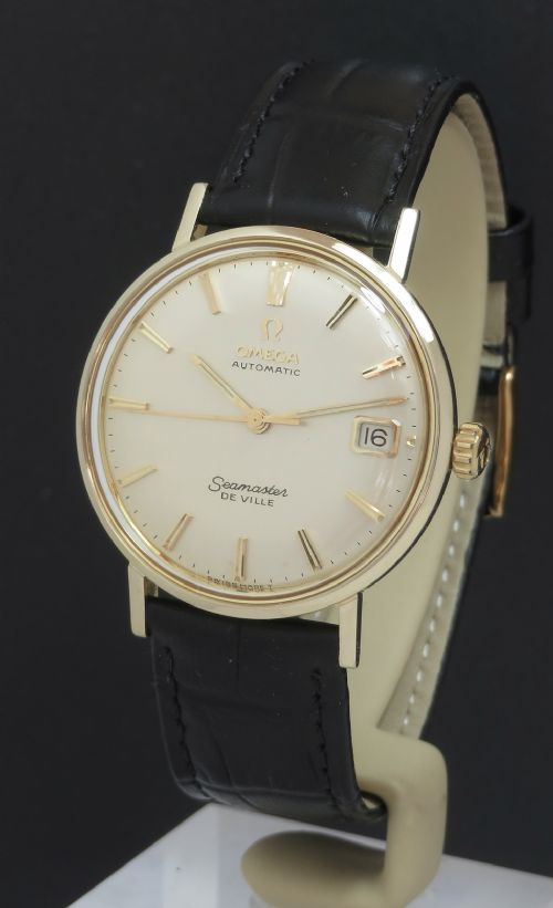 solid 14ct gold omega seamaster de ville automatic c1966