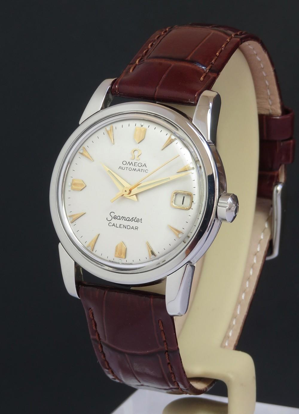 omega seamaster automatic calendar c1958