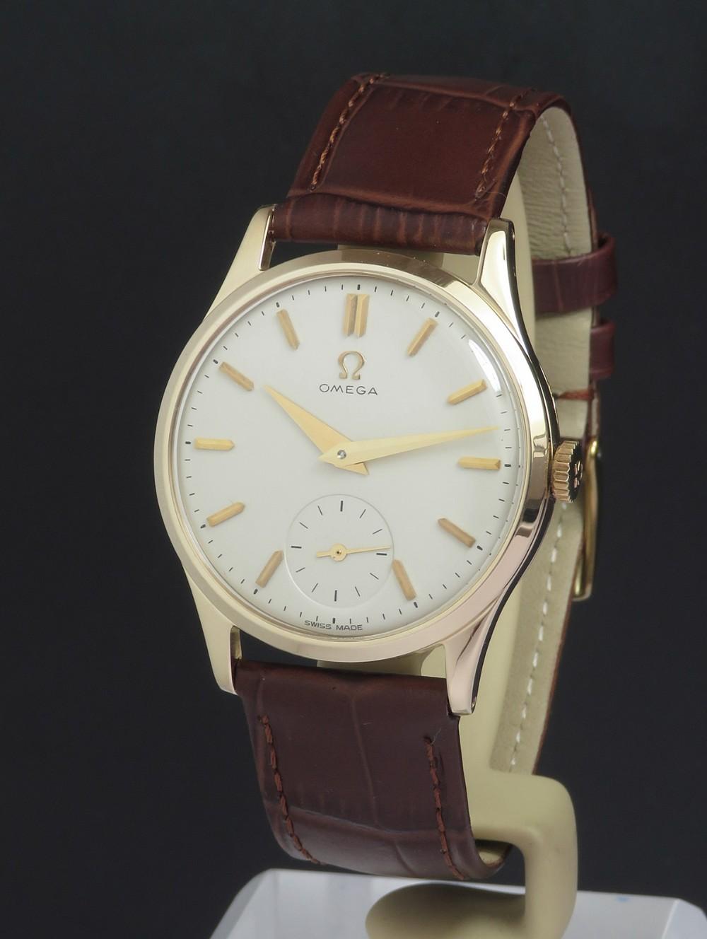solid 9ct gold omega calibre 266 c195354