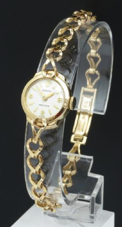 Beautiful Solid 9ct Gold Ladies Cocktail Watch By Garrard
