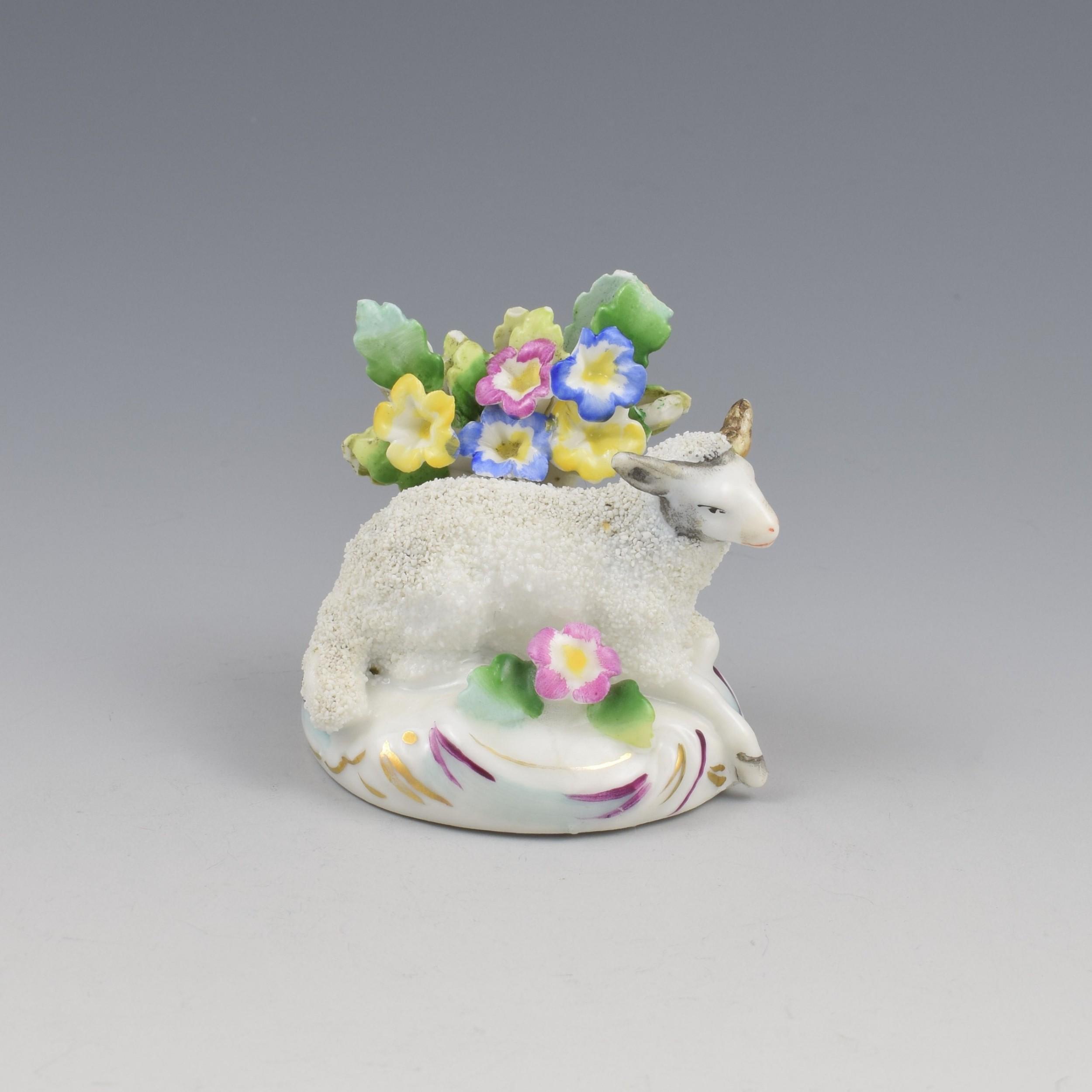 samson of paris french porcelain figure of a sheep
