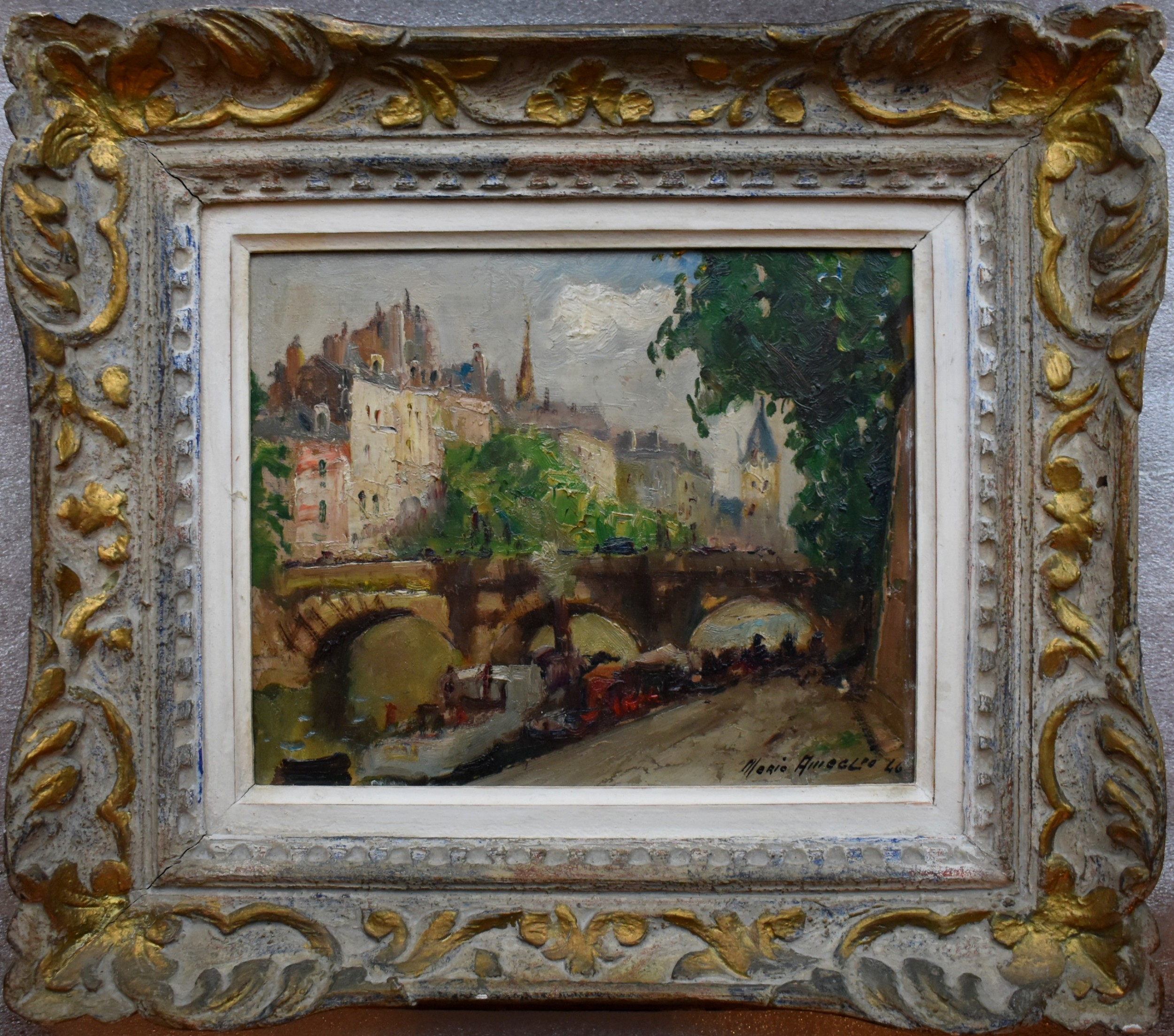 merio ameglio 18971970 paris 1946 post impressionist