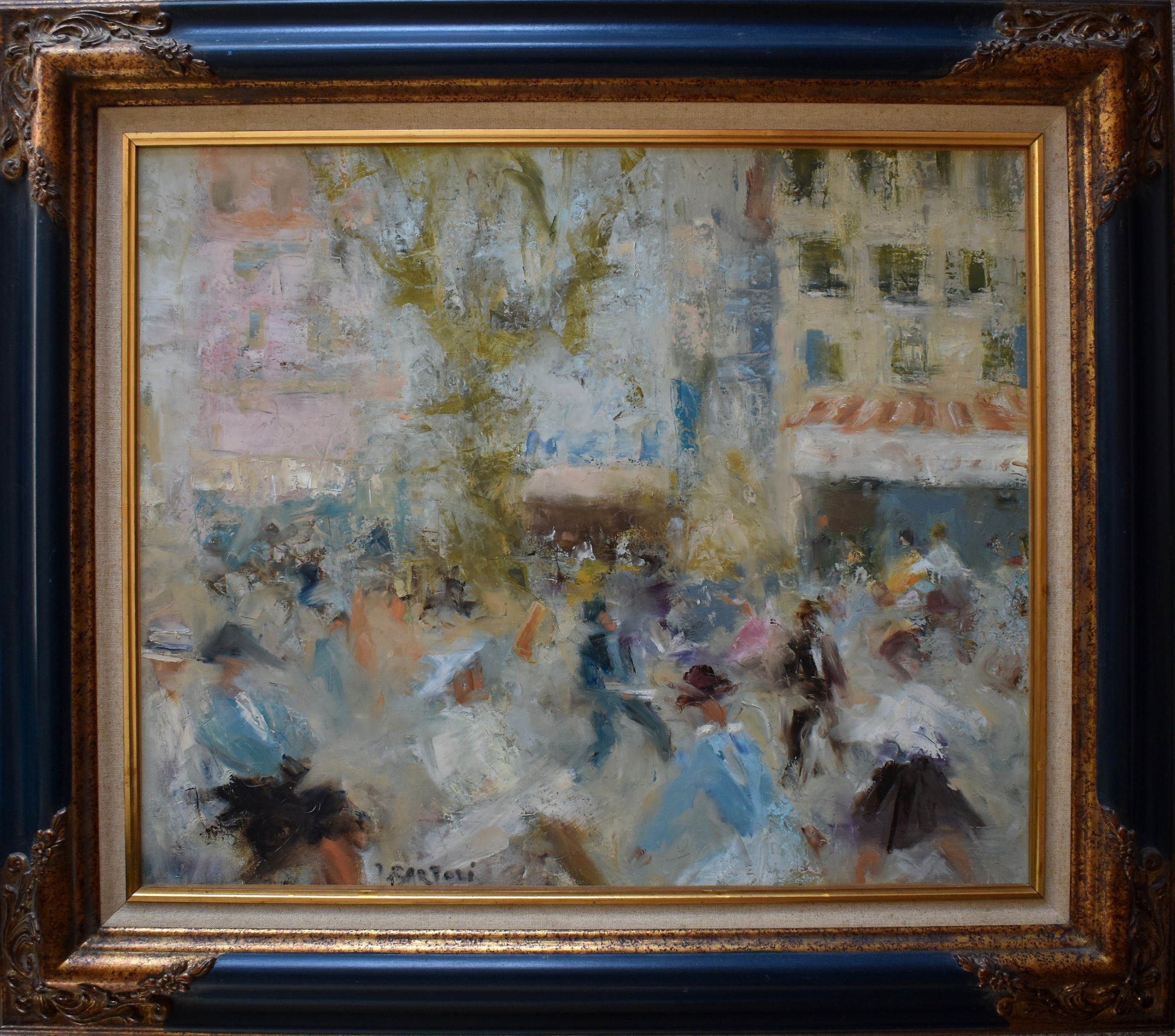 jacques bartoli 19201995 place puget toulon french impressionist
