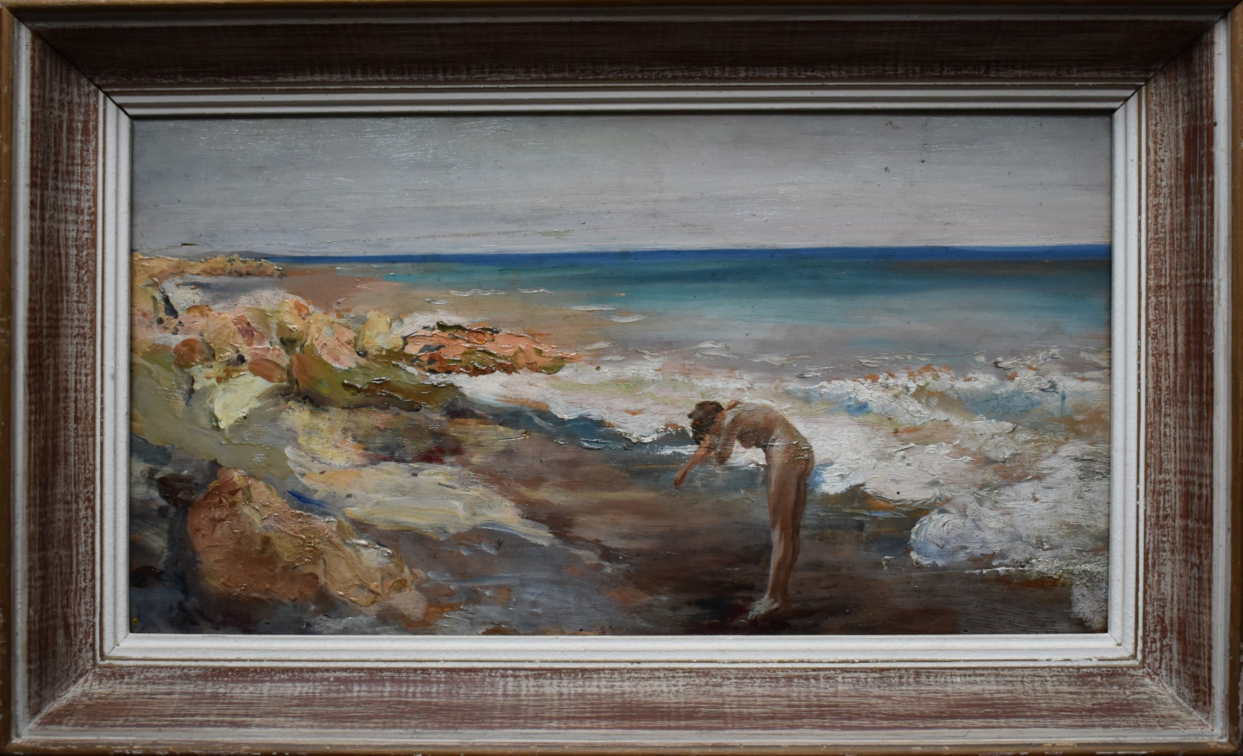 attributed to guglielmo pizzirani 18861971 italian school oil painting