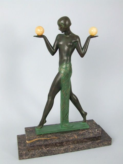 Le faguays french art deco espana aux boules c1930 - Art deco espana ...