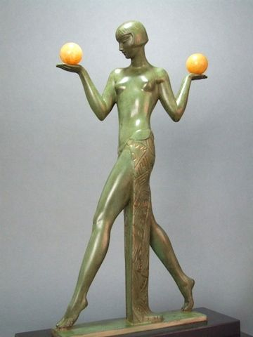 Pierre le faguays art deco espana au boules c1920 39 s - Art deco espana ...