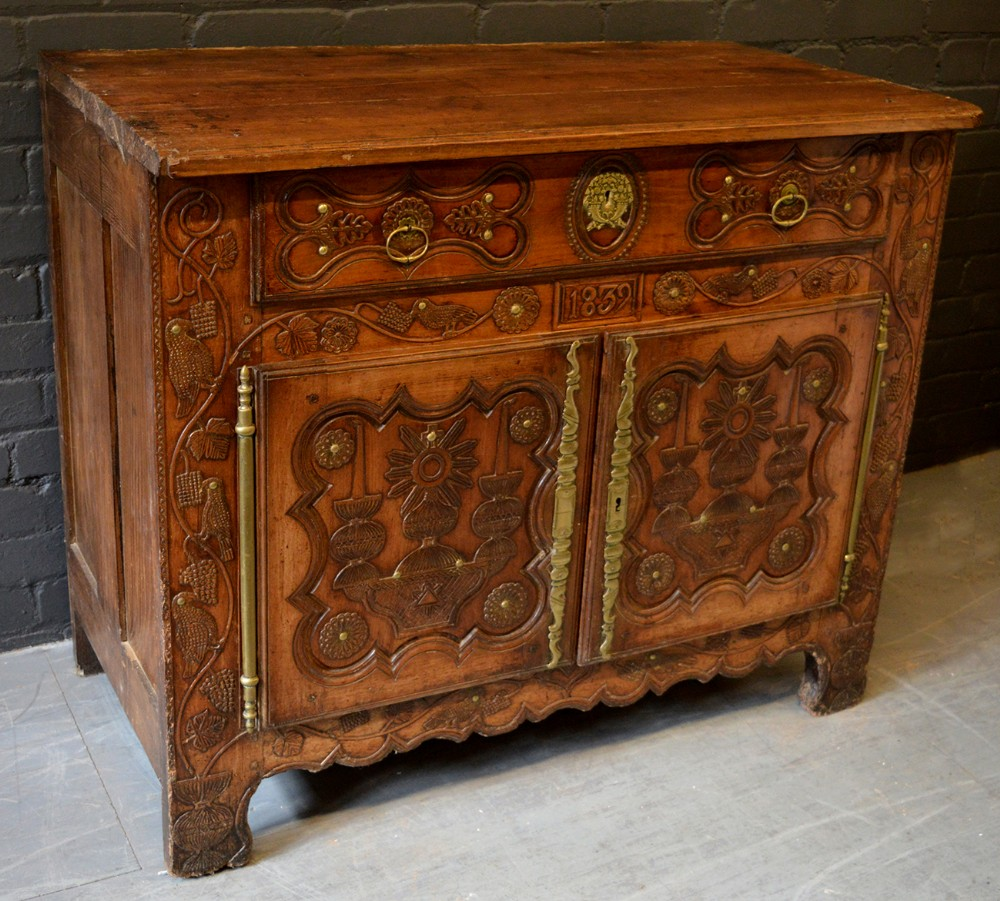 Beautiful 19th Century French Country Buffet Dresser Base