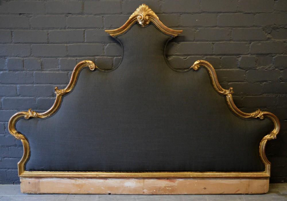 size 40 cd486 931fd Super King Gilt Venetian Hand Carved & Upholstered Bed ...