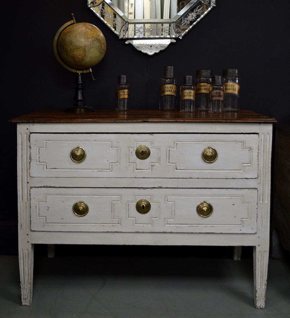 18th century french louis xvi provenal walnut commode