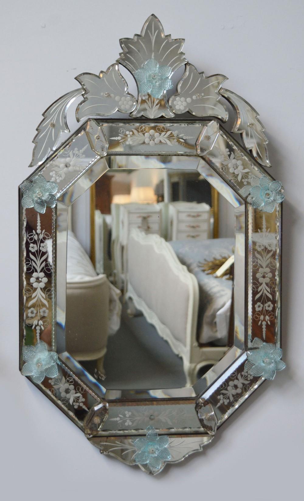 Early 20th Century Venetian Wall Mirror 674397 Sellingantiques Co Uk