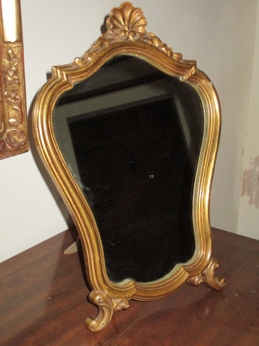 French gilded free standing bedroom mirror 442353 for Free standing bedroom mirrors