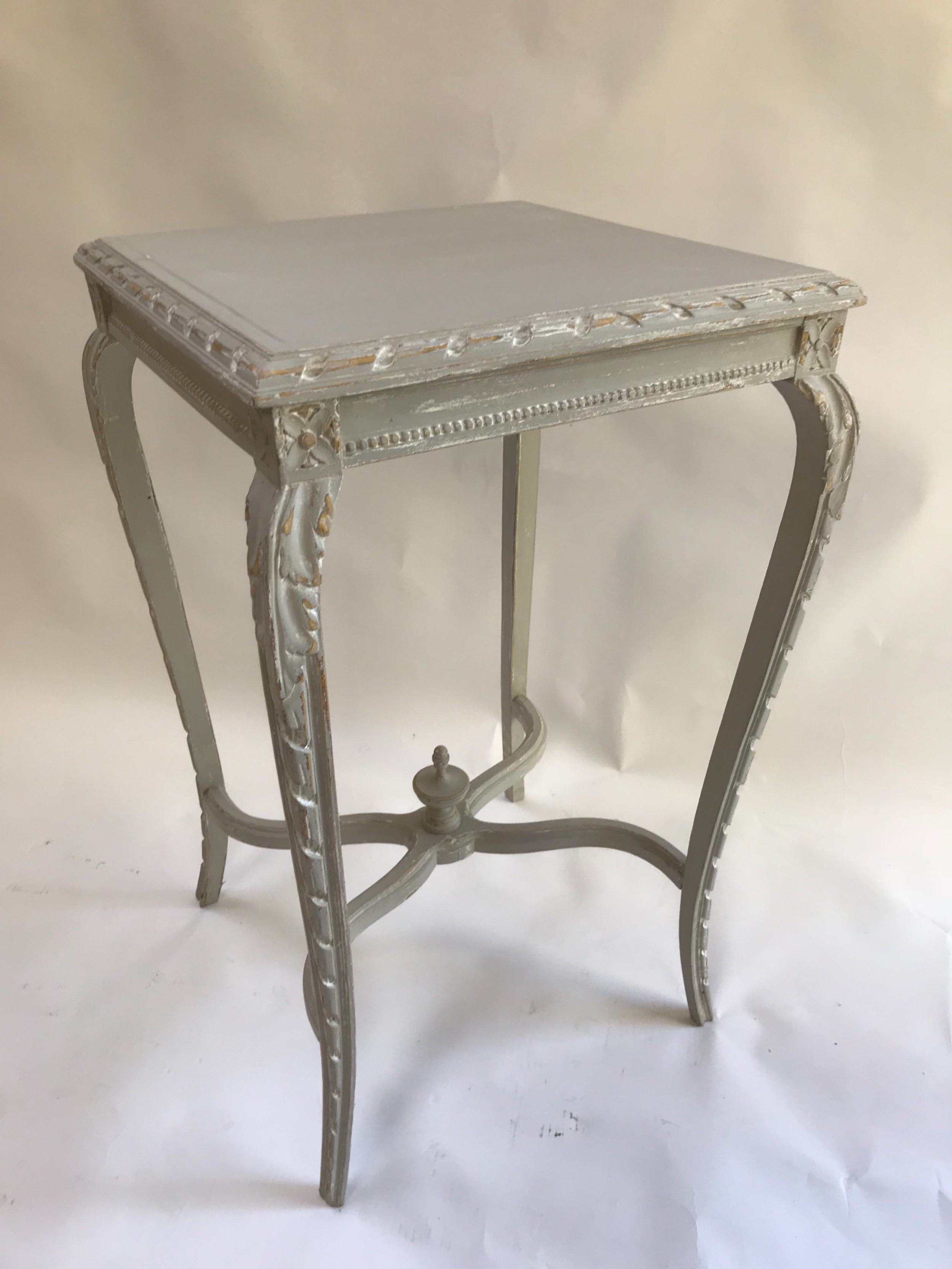 french decorative painted table