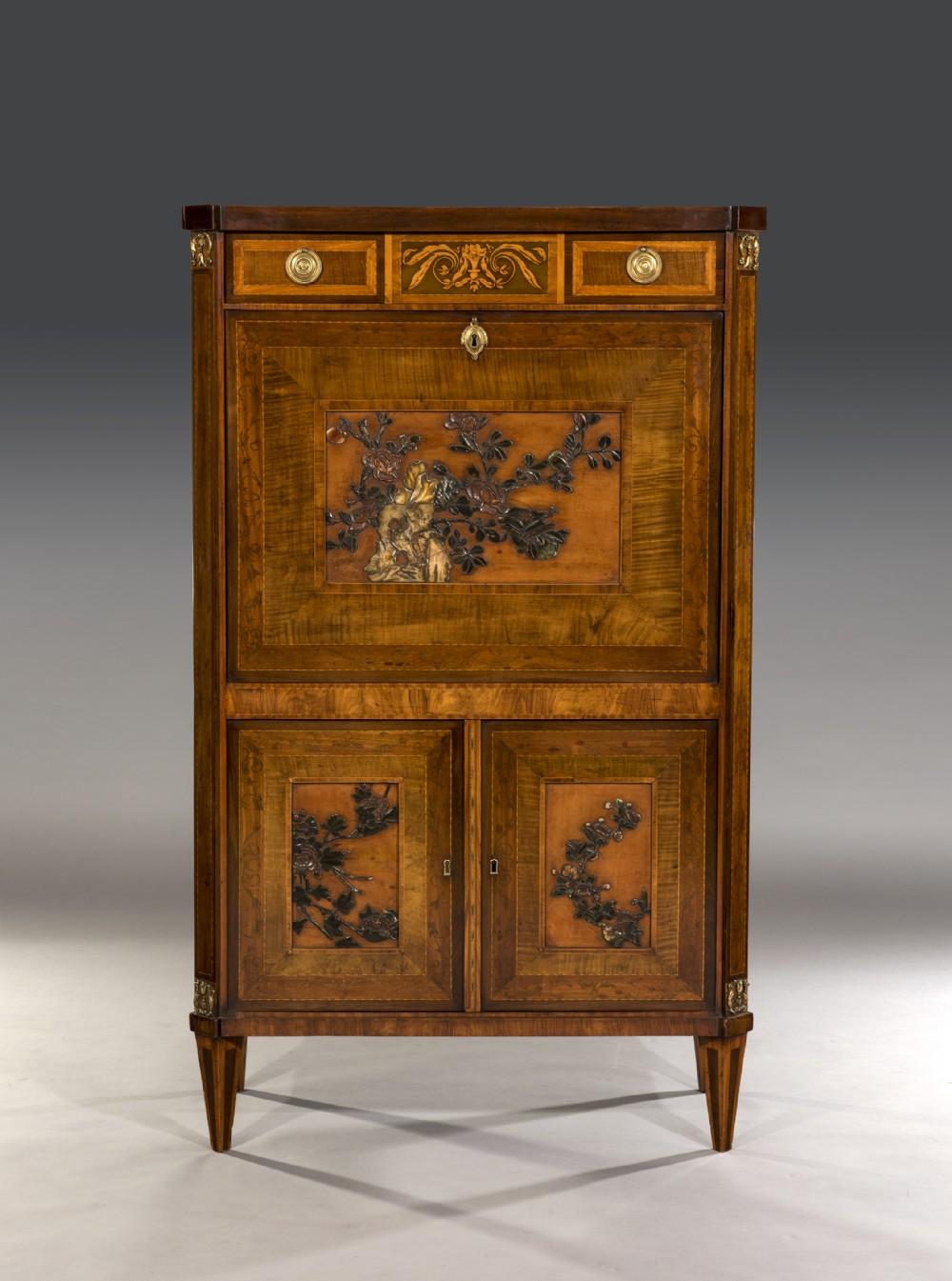 19th century mahogany escritoire
