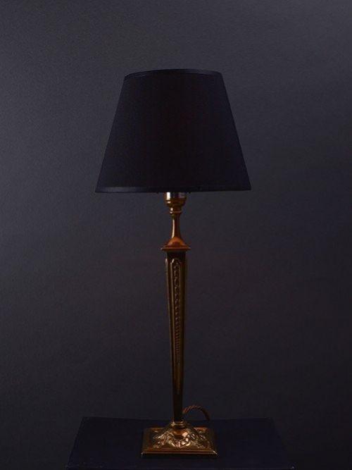 tapered stem table lamp