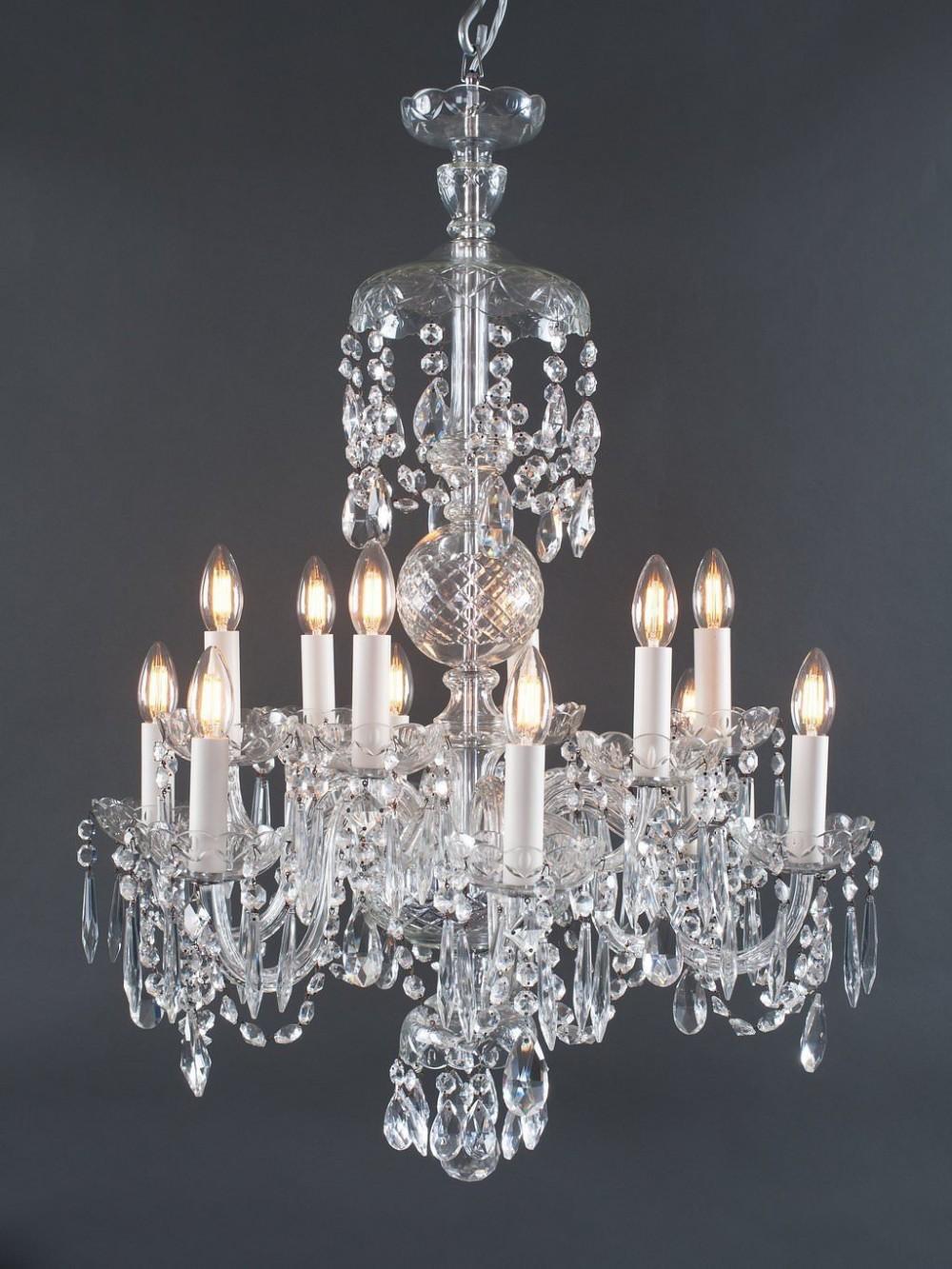 czechoslovakian crystal chandelier