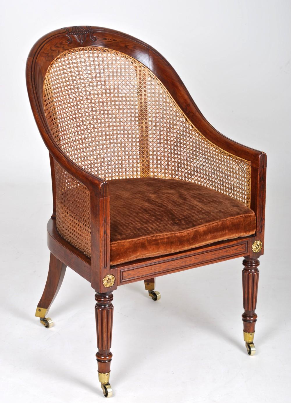 A Gillows Bergere Chair 240469