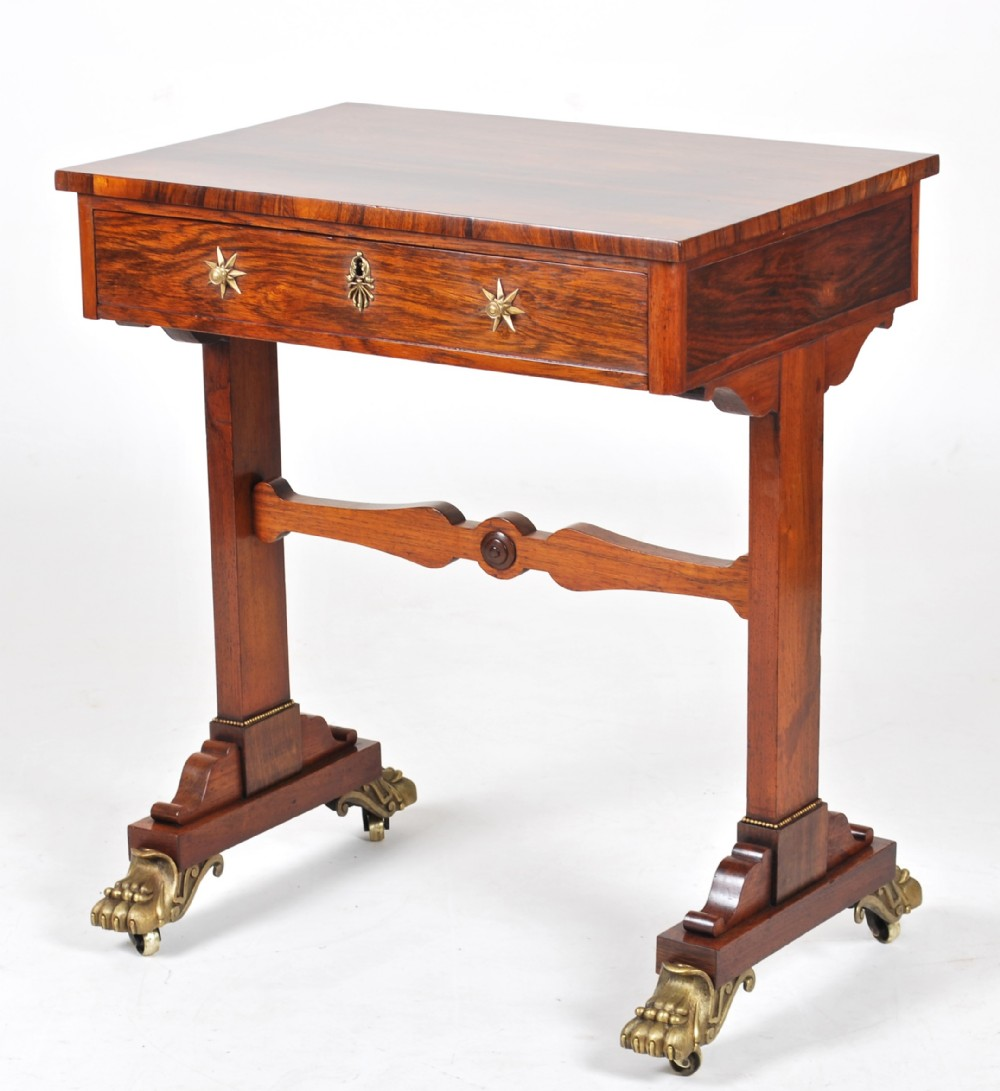 a rosewood sidecentre tablec1825
