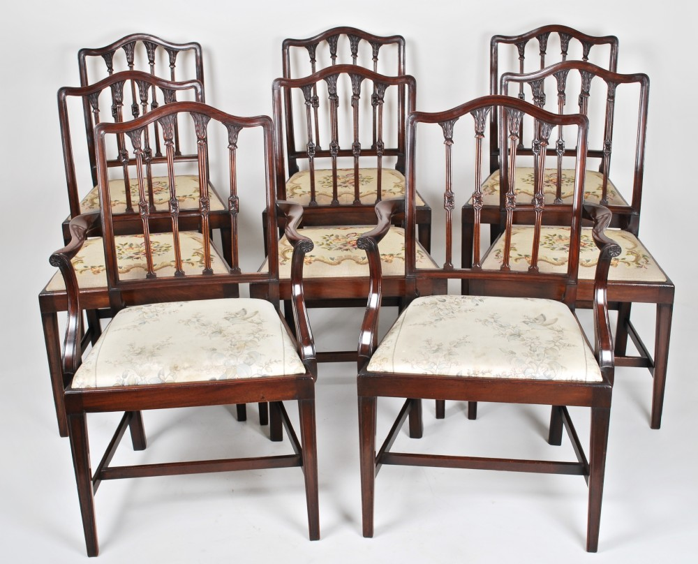 a set of dining chairsc1900
